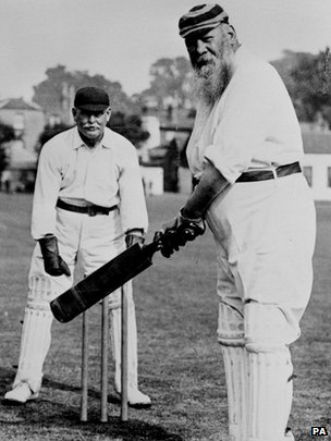 Here's WG Grace, as mentioned by Nick Clegg