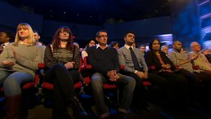 BBC studio audience