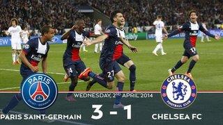 Paris St-Germain's tweet