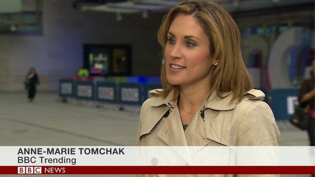 Anne-Marie Tomchak BBC Trending
