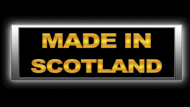 Made in Scotland sign