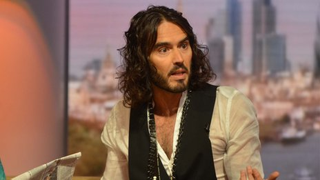 Russell Brand on The Andrew Marr Show