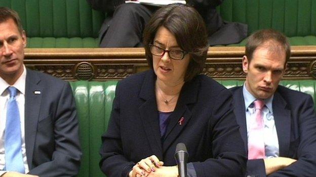 Public health minister Jane Ellison