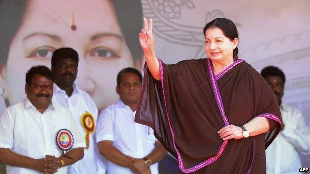 Tamil Nadu's Chief Minister Jayalalithaa Jayaram
