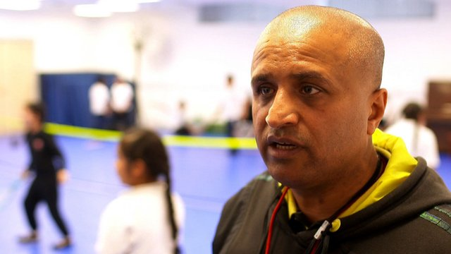 Community Tennis 'Activator' Bal Singh