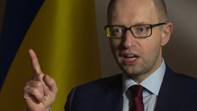 Ukraine PM: 'We will retaliate against Russian aggression'