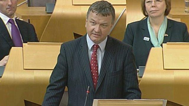 SNP MSP Jim Hume
