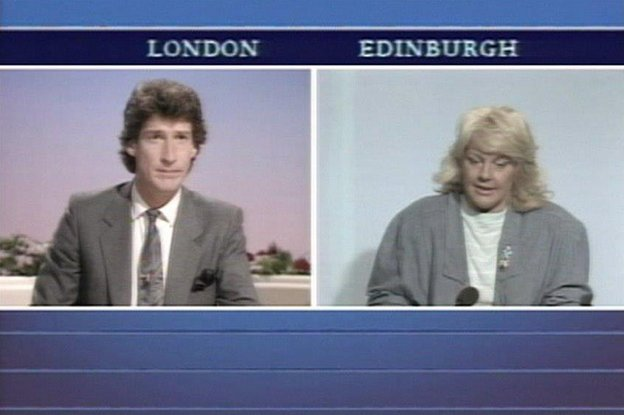 Margo MacDonald and Jeremy Paxman