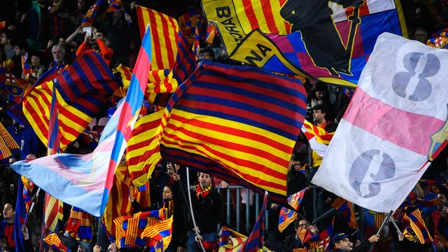 BBC Sport's John Watson explains the story behind the transfer ban that has been placed on Barcelona.