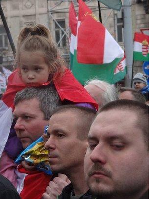 Jobbik supporters