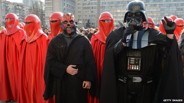 Ukraine's 'Darth Vader' election candidate