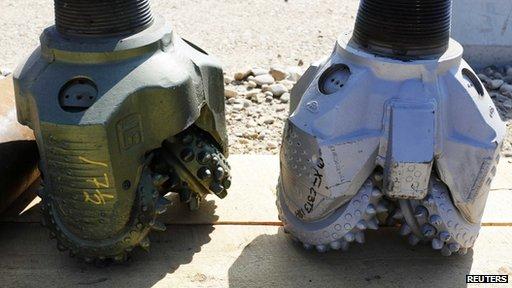 Oil rig drill bits