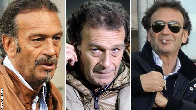 Many faces of Massimo Cellino