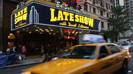 Ed Sullivan Theater in New York
