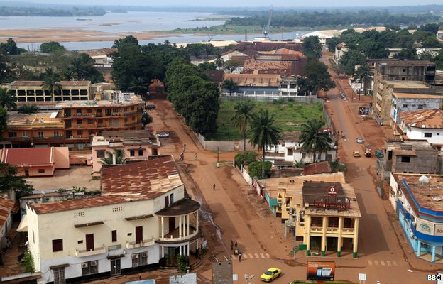 Bangui, the capital of the Central African Republic