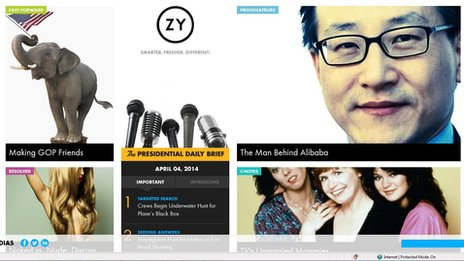 Ozy website