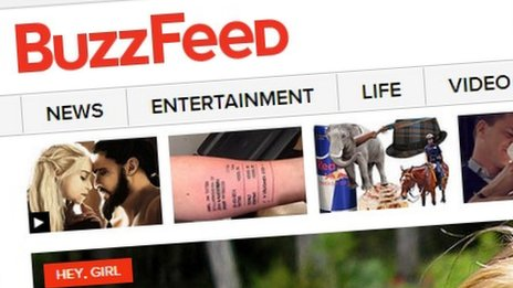 Buzzfeed screenshot
