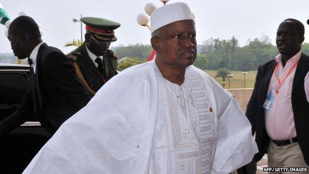 Guinea-Bissau President Manuel Serifo Nhamadjo