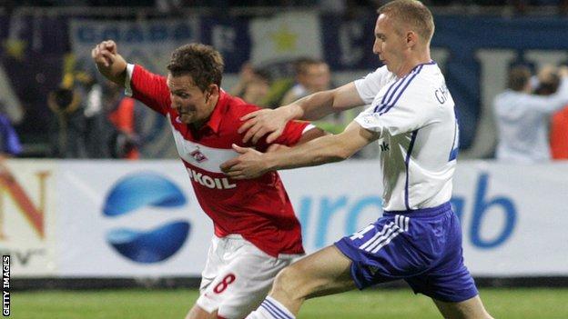 Dynamo Kiev v Spartak Moscow