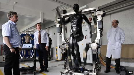 The Porton Man robot mannequin