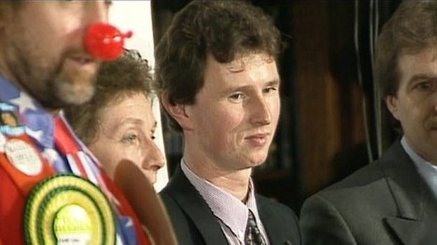 Nigel Evans in 1991