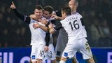 Aaron Doran celebrates his opener for Inverness against Ross County