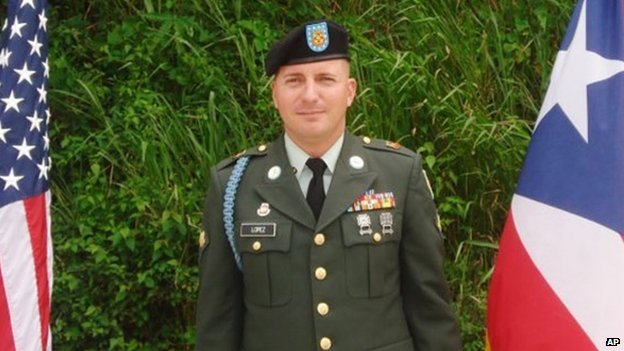 Undated photo of Army Specialist Ivan Lopez