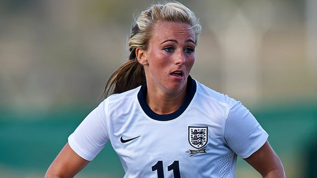 Women's World Cup qualifier: England take lead after 59 seconds