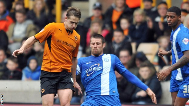 Wolves v Peterborough