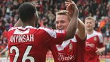 Johnny Hunt celebrates with Joe Anyinsah