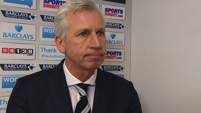 "Manager Alan Pardew says Newcastle ""lack a bit of quality"""