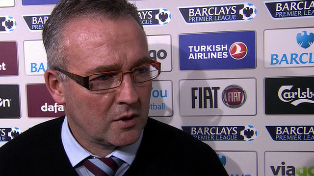 Lambert 'angry' after Villa defeat