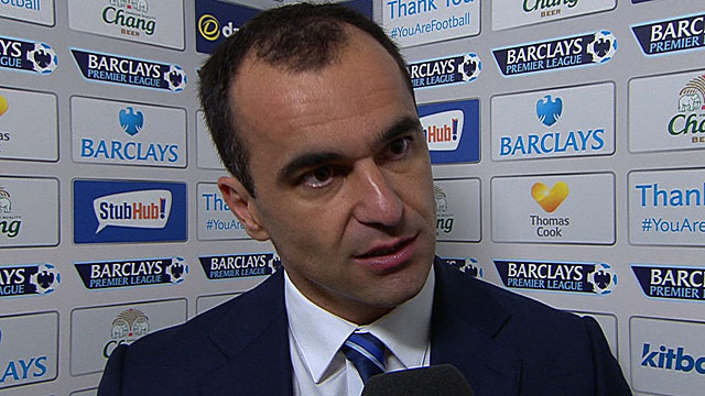 "Everton manager Roberto Martinez says his side were ""tactically perfect"""