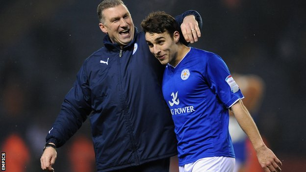 Nigel Pearson (left) and Matty James