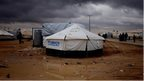 Deadly clash in Syrian refugee camp