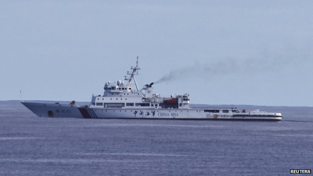 Chinese vessel Haixun 01 (5 April 2014)
