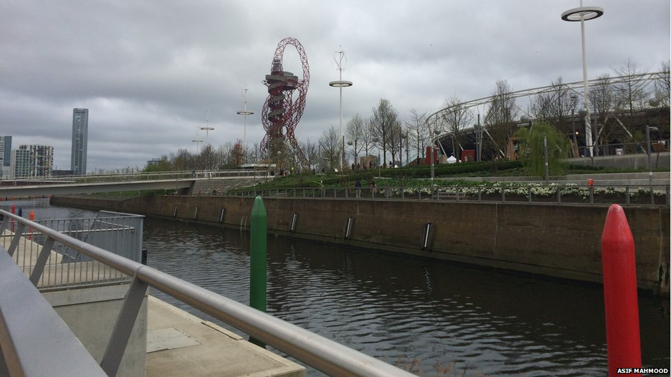 The Queen Elizabeth Olympic Park