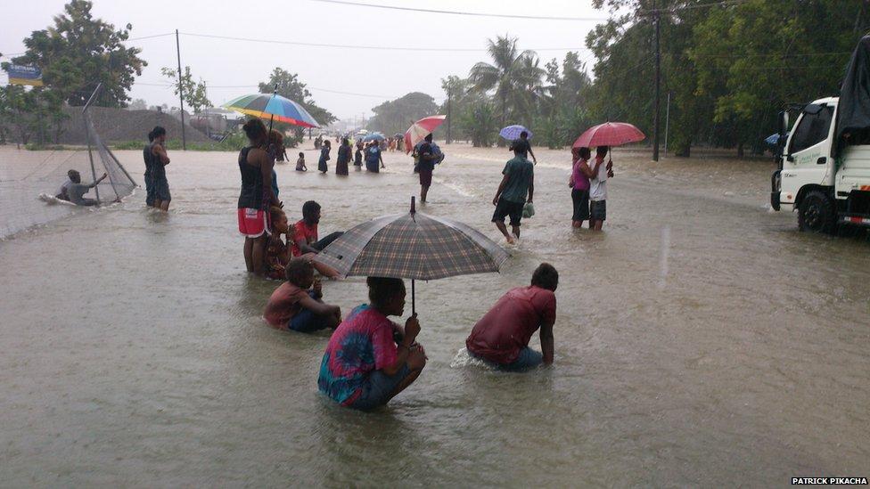 Solomon Island floods