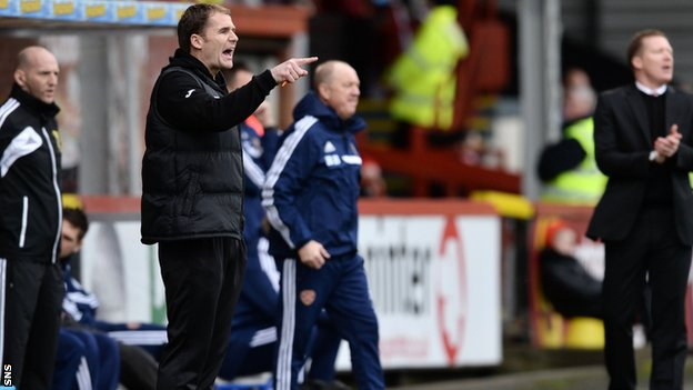 Alan Archibald was at a loss to explain Partick Thistle's performance as they lost 4-2 to Hearts
