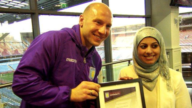 Aston Villa scheme sends local children to university