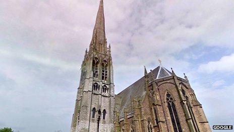 St Walburge's Church Preston