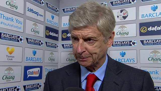 "Manager Arsene Wenger says Arsenal need a ""different attitude"""