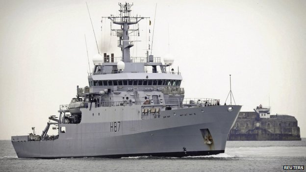 File photo of HMS Echo