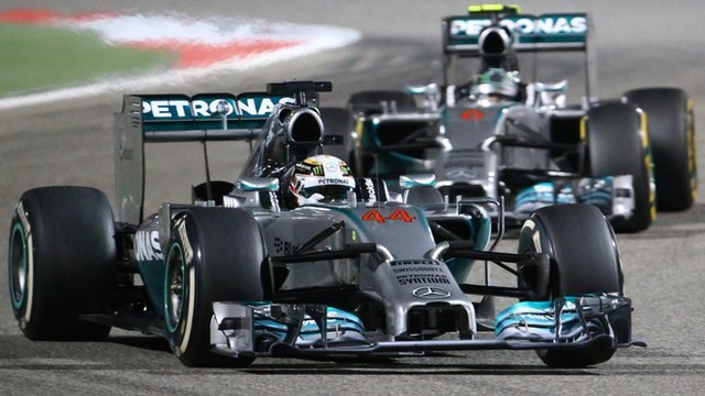Bahrain Grand Prix highlights: Hamilton beats Rosberg in thriller
