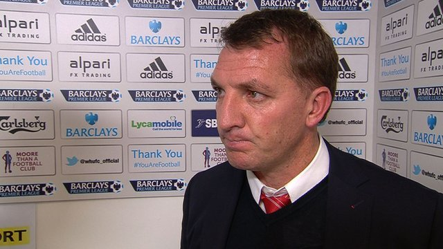 Winning penalty wasn't lucky - Brendan Rodgers