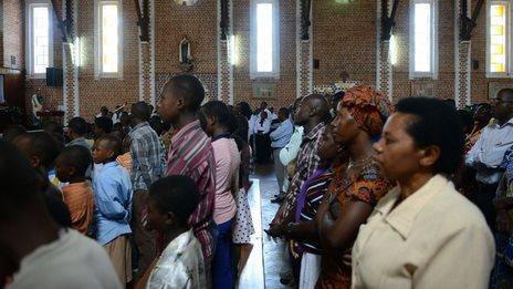 Mass marks Rwanda genocide mourning