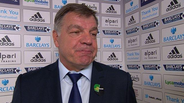 Flanagan was looking for penalty - Allardyce