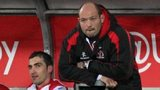 Ruan Pienaar and Rory Best watch the Heineken Cup quarter-final from the dugout after being forced off the field