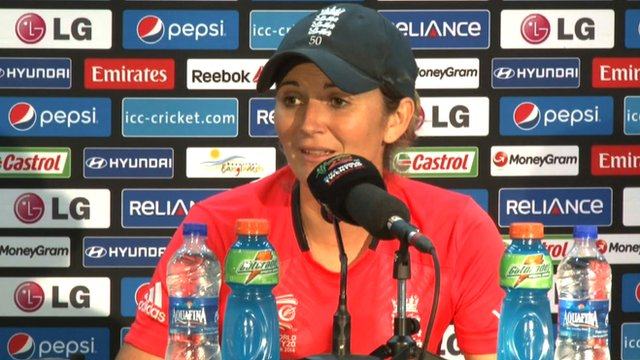 "Women's World Twenty20: Charlotte Edwards says England ""didn't turn up"""