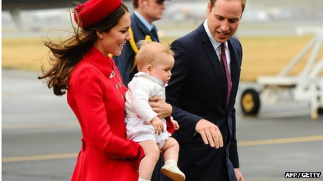 Royals in New Zealand